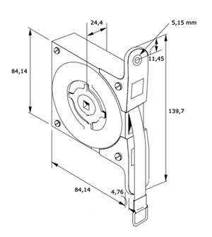 constant force spring in house dimensions